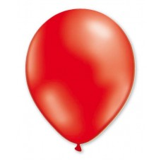 Balloon Metallic 13cm Red x1000