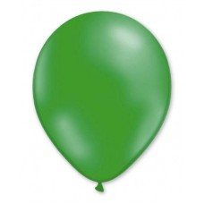 Balloon Metallic 28cm Green Dark x10s