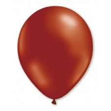 Balloon Metallic Helium 28cm Burgundy 50