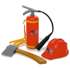 Fireman Set - Axe - Hat - Extinguisher