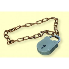 Necklace Chain with Large Padlock