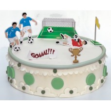 Cake Decorations Football Stand Ups