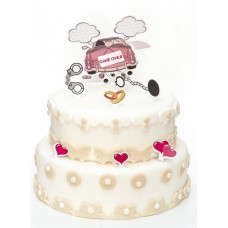 Wedding Humorous Cake Decorations