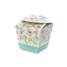 Cup Cake Box single Shabby Chic 4's