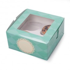 Cup Cake Box for 4 cakes Tiffany 2's