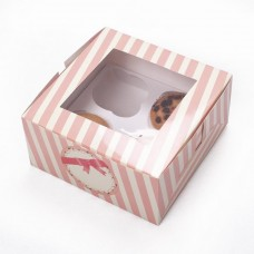 Cup Cake Box for 4 cakes Sweet Hours 2's