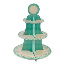 Cake Stand Tiffany 3 Tiers Round