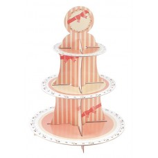 Cake Stand Sweet Hour 3 Tiers Round