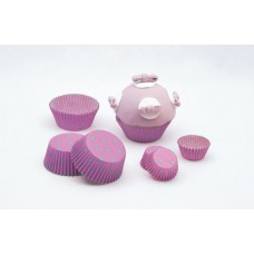 Cup Cake Cases Dots Small 3 x 2cm 100