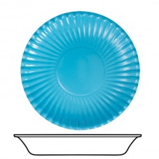 Bowls Card 22cm Turquoise 10's
