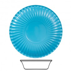 Bowls Card 15cm Turquoise 10's
