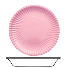 Bowls Card 22cm Pink 10's