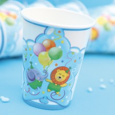Baby Boy Party Cups Card 250cc 10's