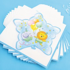 Baby Boy Party Napkins Paper 20's