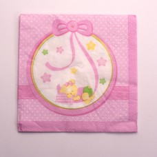 Baby Girl Nanna Party Napkins Paper 16's