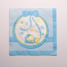 Baby Boy Nanna Party Napkins Paper 16's