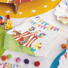 Circus Party Napkins Paper 16's