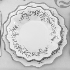 Imperial Silver Plates Card 27cm 8's