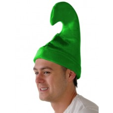 Pixi Shaped Hat Green Velvet