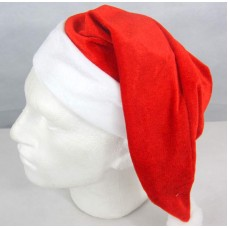 Santa Hat Velvet Red  with Velvet Cuff