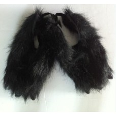 Hair - Animal Claws (Feet Covers) Black