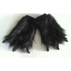 Hair Animal Claws (Hand Covers) Black