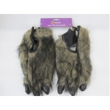 Hair Animal Claws (Feet Covers) Brown