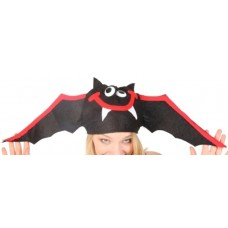 Animal Hat Flying Bat Black & Red