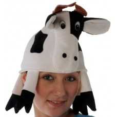 Hat Animal Cow with horns
