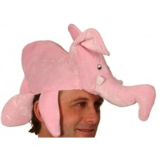 Animal Hat Pink Elephant & Trunk