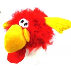 Animal Hat Flying Bird Monster Red