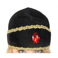Crown Hat Eastern  Black