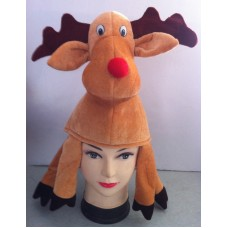 Animal Hat Reindeer with Legs & Antlers