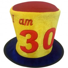 Hat Birthday Ages 30