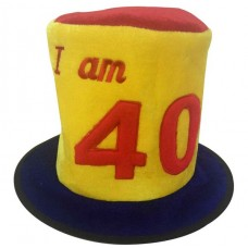 Hat Birthday Ages 40