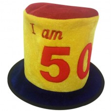 Hat Birthday Ages 50