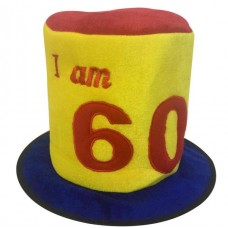 Birthday Hat Ages 60