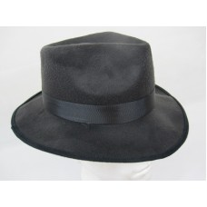Fedora Black with elastic one size fits