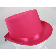 Top Hat Satin Pink 59cm