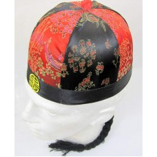 Chinese Hat Merchant Round Decorated 61