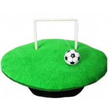 Hat Football Goal with Ball