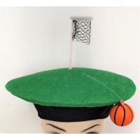 Hat Basketball Net & Ball