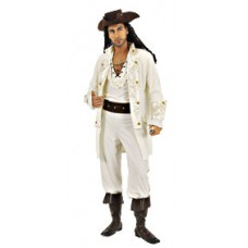Pirate Captain Deluxe XL Costume
