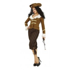 Pirate Caribbean Female XL Costume