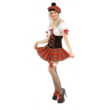 Scots Lady Tartan Costume X Large