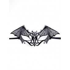 Mask Eye Metal Colombina Pipistrello B
