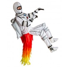Costume Rocket Man riding the Flame