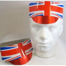 Hat Card with Peak Union Jack 25's