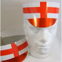 Hat Card Flag with Peak England 5's