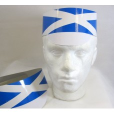 Hat Card Flag with Peak Scotland 25's